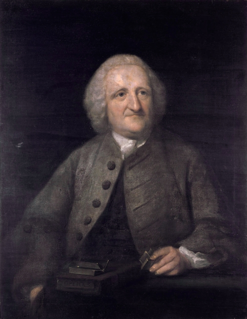 John Dollond *oil on canvas  *90.2 x 69.8 cm  *mid to late 18th century