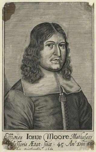 NPG D29110; Sir Jonas Moore after Unknown artist
