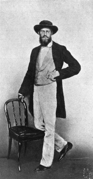 Alfred Russel Wallace 1862