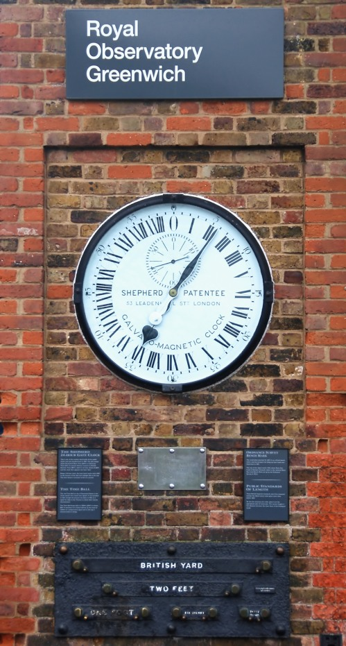 Thankfully we've got the Royal Observatory at Greenwich keeping an eye on the time for us.