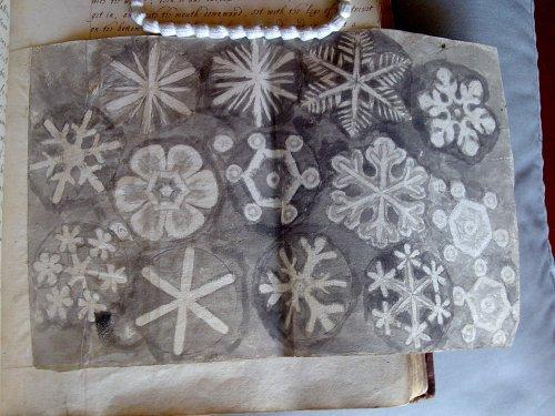 Hooke's snowflakes
