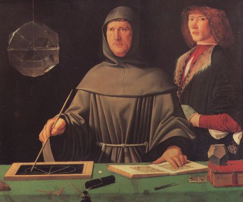 Luca Pacioli artist unknown