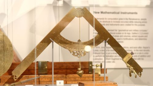 Galileo's military compass