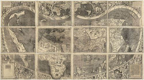 Waldseemüller World Map 1507 (Wikipedia Commons)