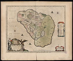 Map of Hven by Blaeu