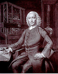 P.L. Tassaert's half-tone print of Thomas King's original 1767 portrait of John Harrison, located at the Science and Society Picture Library,