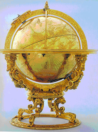 Bürgi Mechanical Celestial Globe 1594 Source: Wikimedia Commons