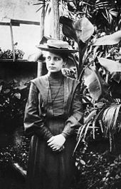 Lise Meitner in 1906 Source: Wikimedia Commons