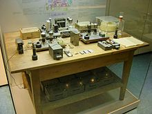 Nuclear Fission Experimental Apparatus 1938: Reconstruction Deutsches Museum München Source: Wikimedia Commons