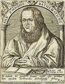 Johannes Schöner Source: Wikimedia Commons