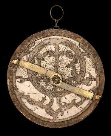 Paper and Wood Astrolabe Hartmann Source: MHS Oxford