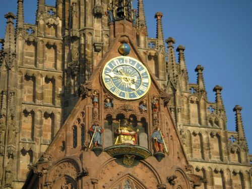 Frauenkirche Clock