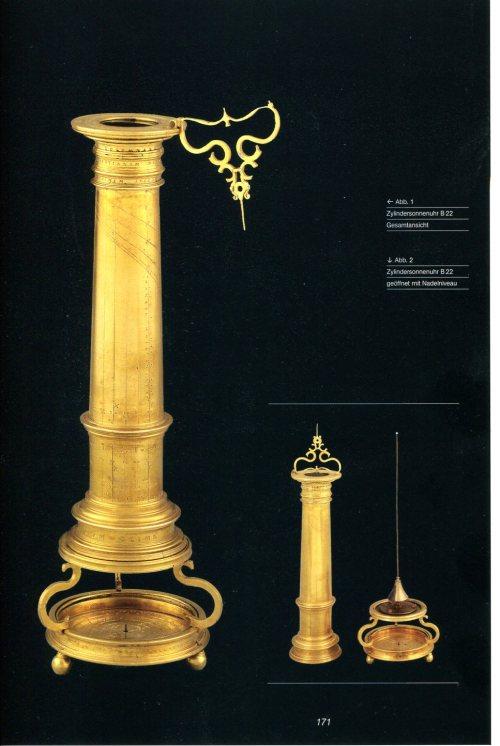 Column Sundial by Christian Heyden Source: Museumslandschaft Hessen-Kassel