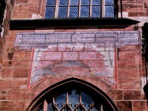 Lorenzkirche Sundial Source: Astronomie in Nürnberg