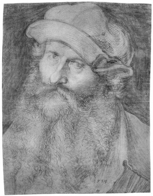 Johannes Stabius portrait by Albrecht Dürer