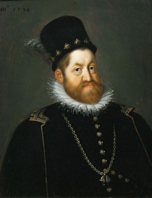 Rudolph II portrait by Joseph Heinz the Elder Source: Wikimedia Commons
