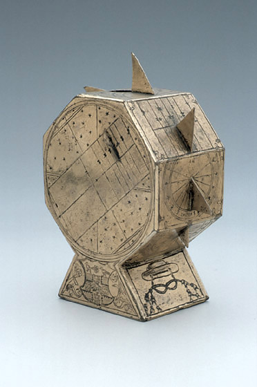 Polyhedral Sundial attributed to Nicolas Kratzer Source: MHS Oxford