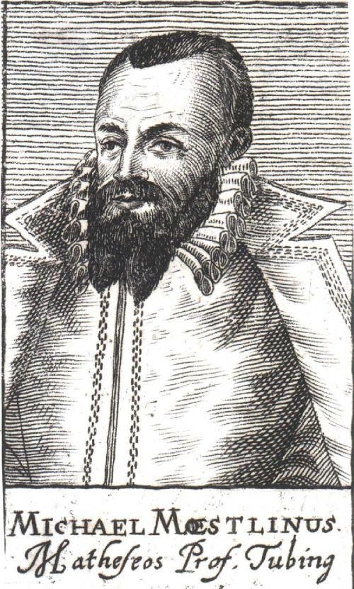 Michael Maestlin Source: Wikimedia Commons