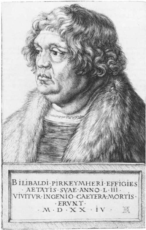 Willibald Pirckheimer by Albrecht Dürer Source: Wikimedia Commons