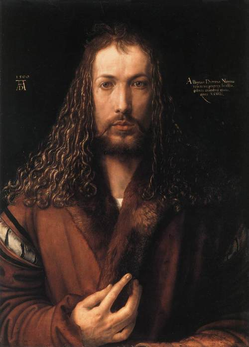 Albrecht Dürer selfportrait Source: Wikimedia Commons