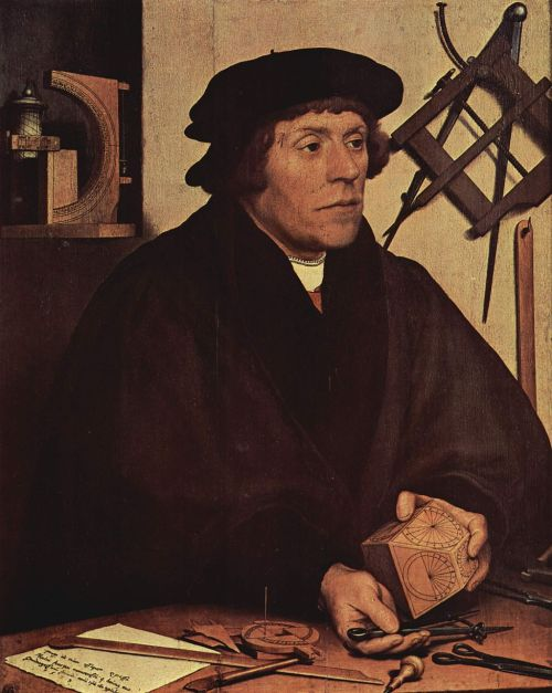 Nicolas Kratzer by Hans Holbein Source: Wikimedia Commona