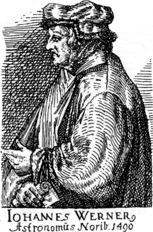 Johannes Werner Source: Wikimedia Commons