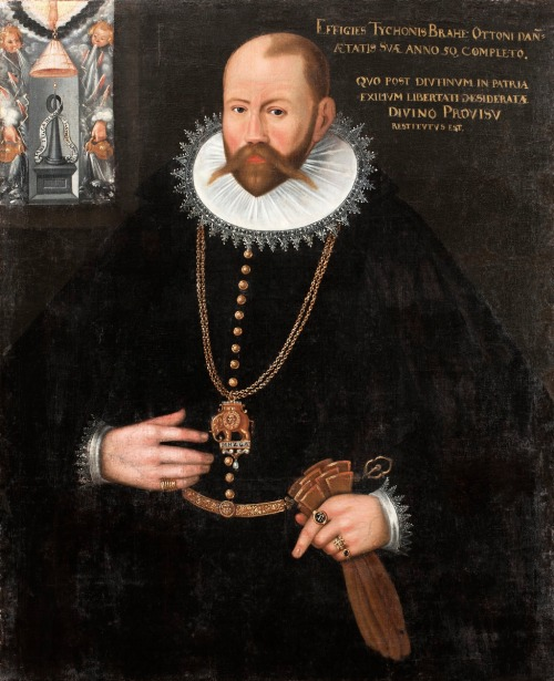 Portrait of Tycho Brahe (1596) Skokloster Castle Source: Wikimedia Commons
