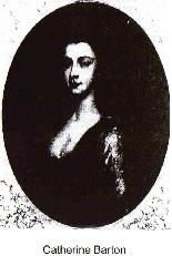 Apparently the only image of the young Catherine Barton Source: Wikimedia Commons