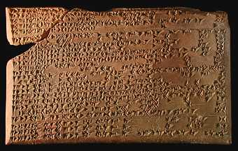 Enuma Anu Enlil text This tablet talks about how the planet Venus will appear at certain times in the future.