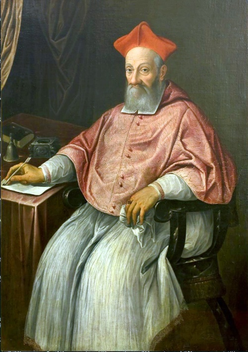 Cardinal Guglielmo Sirleto Source: Wikimedia Commons