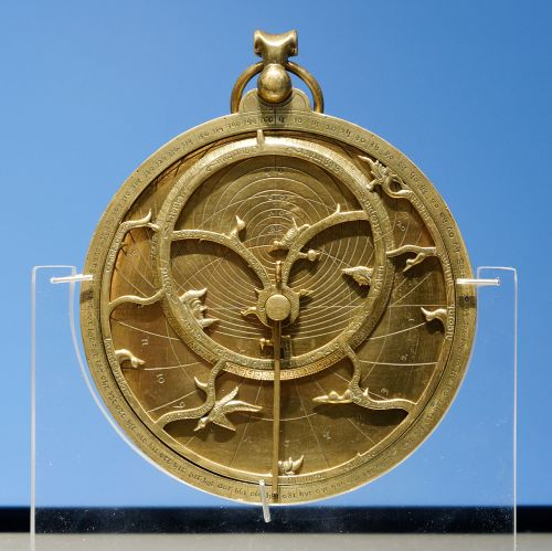 So-called Chaucer Astrolabe dated 1326, similar to the one Chaucer describes, British Museum Source: Wikimedia Commons