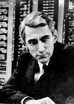 Claude Shannon Photo by Konrad Jacobs Source: Wikimedia Commons (Konrad Jacobs was one of my maths teachers and a personal friend)