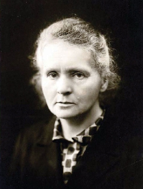 Marie Curie c. 1920 Source Wikimedia Commons
