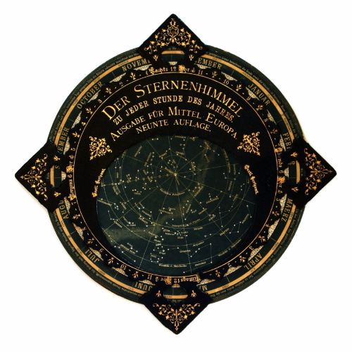 Modern Planisphere Star Chart c. 1900 Source: Wikimedia Commons