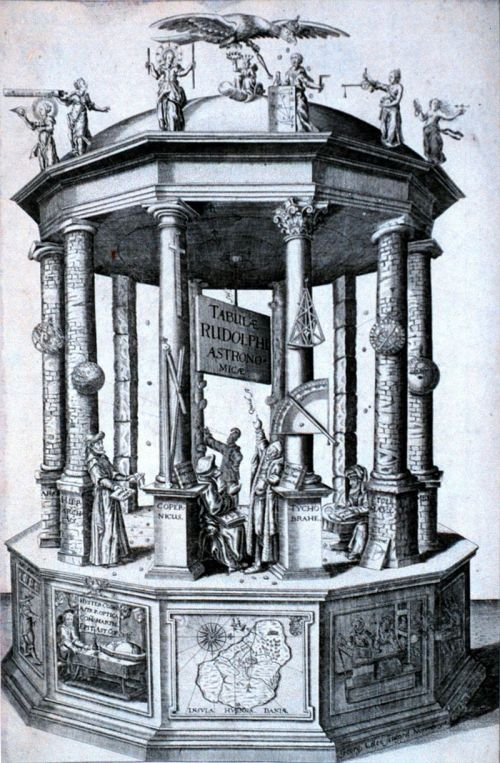 Frontispiece Rudolphine Table 1627 Source: Wikimedia Commons