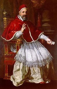 A portrait of Pope Urban VIII by Pietro da Cortona (1627) Source: Wikimedia Commons