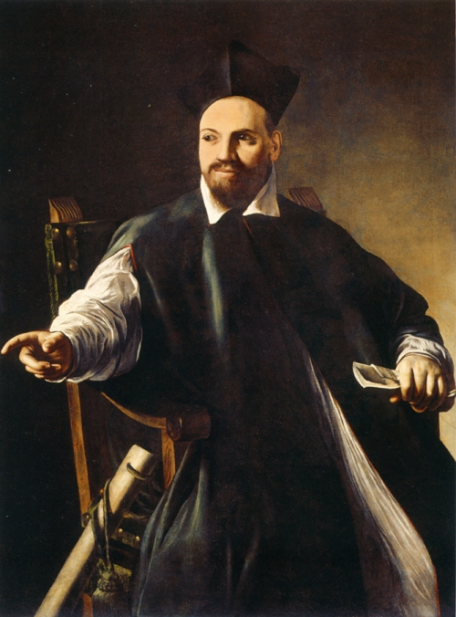 Circa 1598 painting of Maffeo Barberini at age 30 by Caravaggio. Source: Wikimedia Commons