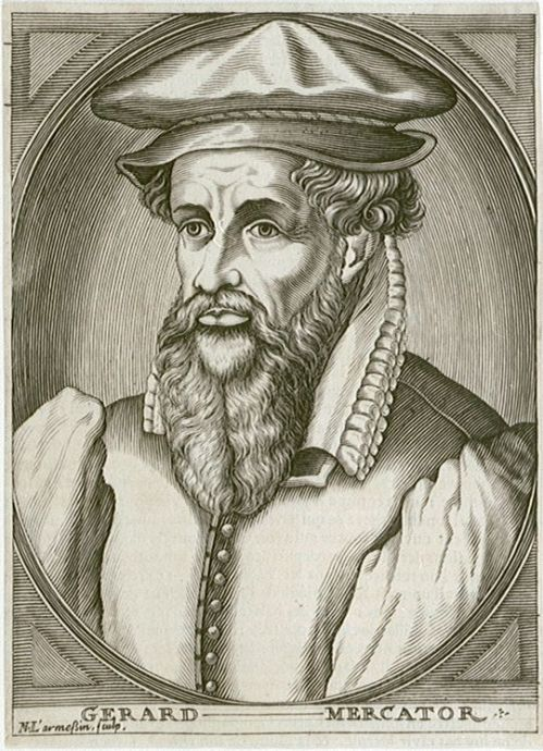 Gerald Mercator Source: Wikimedia Commos