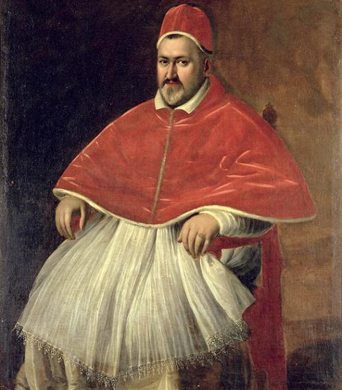 Pope Paul V by Caravaggio. Source: Wikimedia Commons