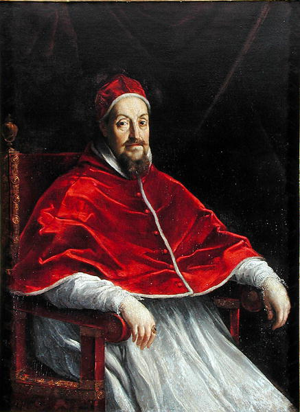 Pope Gregory XV Source: Wikimedia Commons