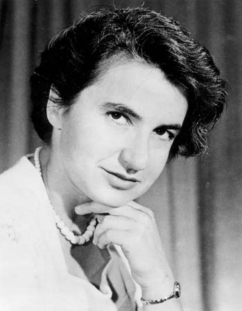 Rosalind Franklin (25 July 1920 – 16 April 1958) Source: Wikimedia Commons