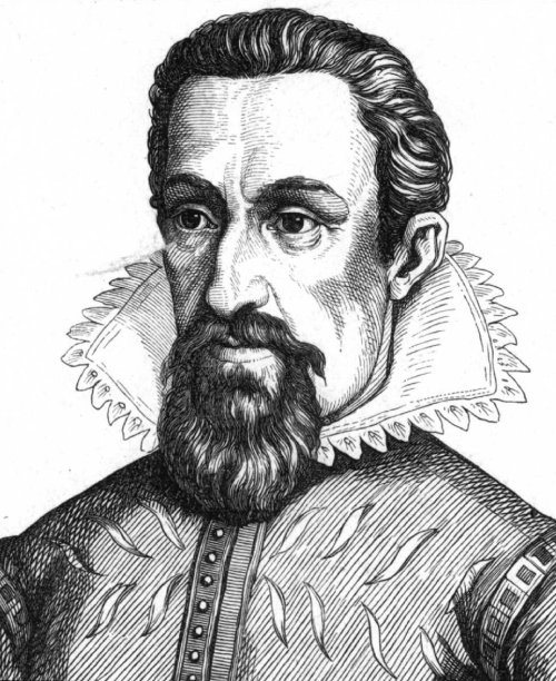 Johannes Kepler Source: Wikimedia Commons