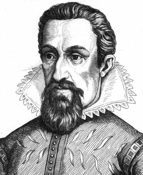 Johannes Kepler Source: Wikimedia Commons