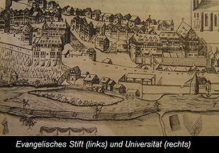 Tübinger Still (left and University (right) Source: Kepler-Gesellschaft e.V.