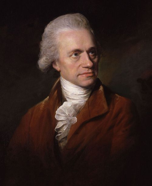 William Herschel 1785 portrait by Lemuel Francis Abbott Source: Wikimedia Commons