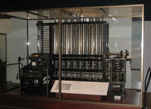 The London Science Museum's reconstruction of Difference Engine No. 2 Source: Wikimedia Commons