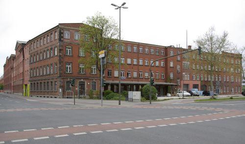 Reiniger, Gebbert & Schall AG Factory in Erlangen constructed in 1883. Now a protected building. Source: Wikimedia Commons