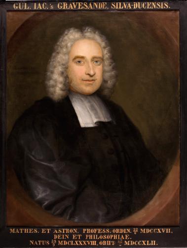Willem Jacob 's Gravesande (1688-1745) Portrait by Hendrik van Limborch (1681-1759) Source: Wikimedia Commons