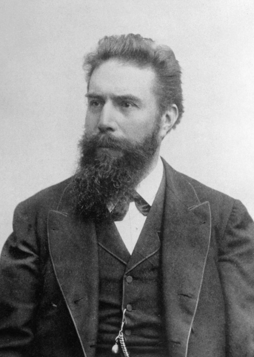 Wilhelm Conrad Röntgen Source: Wikimedia Commons
