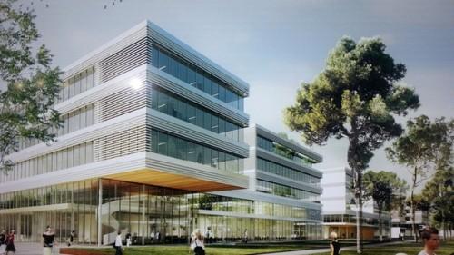 Siemens Campus Architects Model